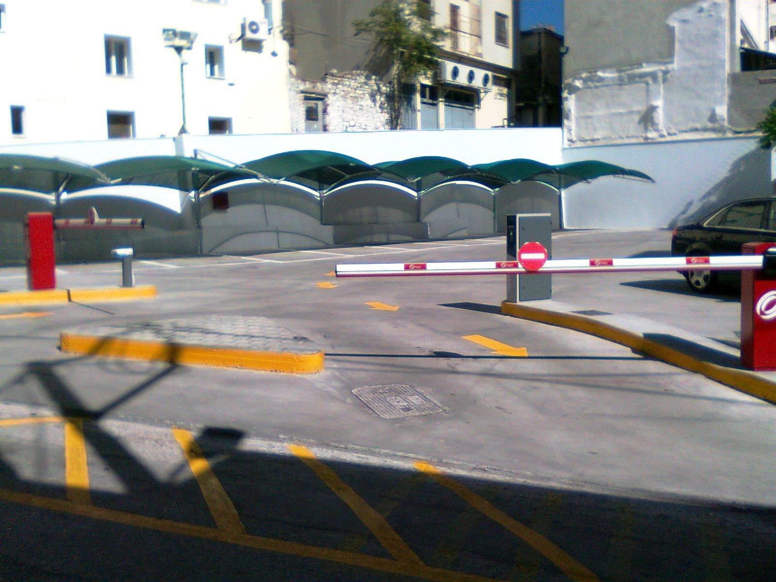 Βιομηχανικό Δάπεδο Parking Τσότρας