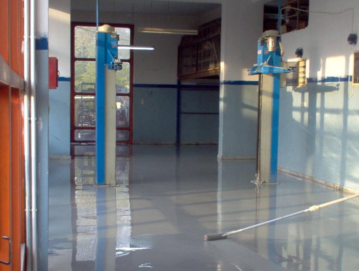 Κατασκευές - Επισκευές Δαπέδων Συνεργείο Αυτοκινήτων